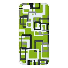 Pattern Abstract Form Four Corner Iphone 5s/ Se Premium Hardshell Case by Nexatart