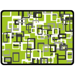 Pattern Abstract Form Four Corner Double Sided Fleece Blanket (large)  by Nexatart