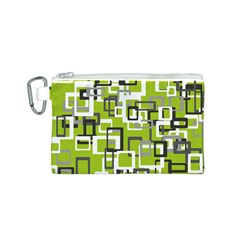 Pattern Abstract Form Four Corner Canvas Cosmetic Bag (s) by Nexatart