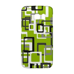 Pattern Abstract Form Four Corner Galaxy S6 Edge by Nexatart