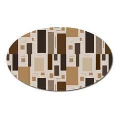 Pattern Wallpaper Patterns Abstract Oval Magnet