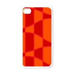 Background Texture Pattern Colorful Apple Iphone 4 Case (white) by Nexatart
