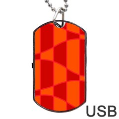Background Texture Pattern Colorful Dog Tag Usb Flash (two Sides) by Nexatart