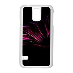 Pattern Design Abstract Background Samsung Galaxy S5 Case (white) by Nexatart