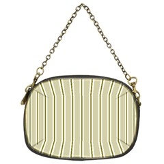 Pattern Background Green Lines Chain Purses (two Sides)  by Nexatart