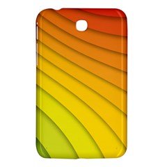 Abstract Pattern Lines Wave Samsung Galaxy Tab 3 (7 ) P3200 Hardshell Case  by Nexatart