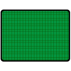 Pattern Green Background Lines Double Sided Fleece Blanket (large)  by Nexatart