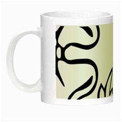Decoration Pattern Design Flower Night Luminous Mugs by Nexatart