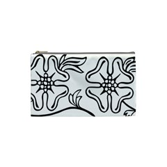 Decoration Pattern Design Flower Cosmetic Bag (small)  by Nexatart