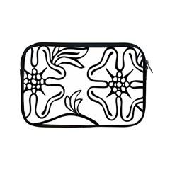 Decoration Pattern Design Flower Apple Ipad Mini Zipper Cases by Nexatart