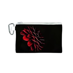 Pattern Design Abstract Background Canvas Cosmetic Bag (s) by Nexatart