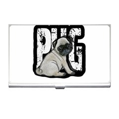 Pug Business Card Holders by Valentinaart