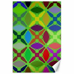 Abstract Pattern Background Design Canvas 20  X 30   by Nexatart