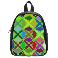 Abstract Pattern Background Design School Bags (small)  by Nexatart