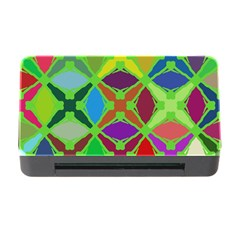 Abstract Pattern Background Design Memory Card Reader With Cf by Nexatart
