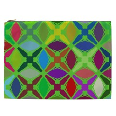 Abstract Pattern Background Design Cosmetic Bag (xxl)  by Nexatart