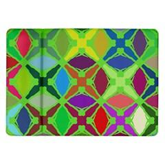 Abstract Pattern Background Design Samsung Galaxy Tab 10 1  P7500 Flip Case