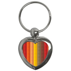 Abstract Pattern Background Key Chains (heart)  by Nexatart