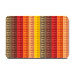 Abstract Pattern Background Small Doormat  by Nexatart
