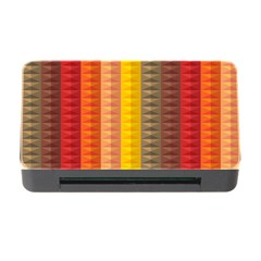 Abstract Pattern Background Memory Card Reader With Cf by Nexatart
