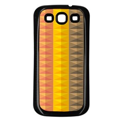 Abstract Pattern Background Samsung Galaxy S3 Back Case (black) by Nexatart