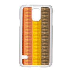 Abstract Pattern Background Samsung Galaxy S5 Case (white) by Nexatart