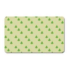 Christmas Wrapping Paper Pattern Magnet (rectangular) by Nexatart