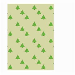 Christmas Wrapping Paper Pattern Large Garden Flag (two Sides) by Nexatart