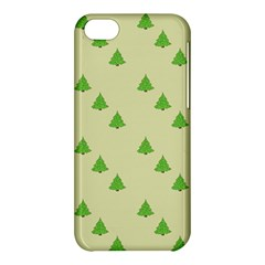 Christmas Wrapping Paper Pattern Apple Iphone 5c Hardshell Case by Nexatart