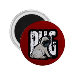 Pug 2 25  Magnets by Valentinaart