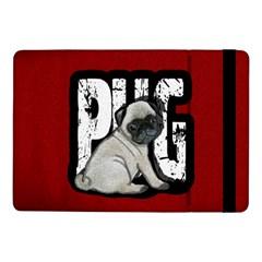 Pug Samsung Galaxy Tab Pro 10 1  Flip Case by Valentinaart