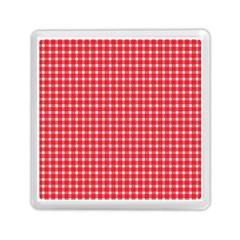 Pattern Diamonds Box Red Memory Card Reader (square)  by Nexatart