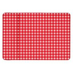 Pattern Diamonds Box Red Samsung Galaxy Tab 8 9  P7300 Flip Case by Nexatart