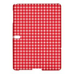 Pattern Diamonds Box Red Samsung Galaxy Tab S (10 5 ) Hardshell Case  by Nexatart