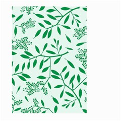 Leaves Foliage Green Wallpaper Large Garden Flag (two Sides) by Nexatart