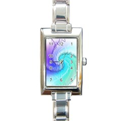 Background Colorful Scrapbook Paper Rectangle Italian Charm Watch by Nexatart