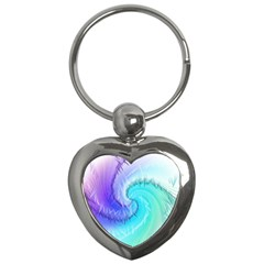 Background Colorful Scrapbook Paper Key Chains (heart)  by Nexatart