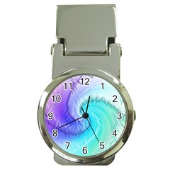 Background Colorful Scrapbook Paper Money Clip Watches by Nexatart