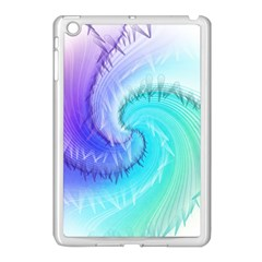 Background Colorful Scrapbook Paper Apple Ipad Mini Case (white) by Nexatart