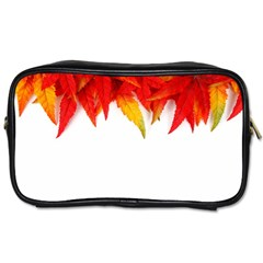 Abstract Autumn Background Bright Toiletries Bags