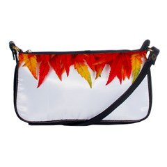 Abstract Autumn Background Bright Shoulder Clutch Bags by Nexatart