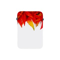 Abstract Autumn Background Bright Apple Ipad Mini Protective Soft Cases by Nexatart