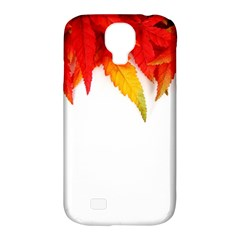 Abstract Autumn Background Bright Samsung Galaxy S4 Classic Hardshell Case (pc+silicone) by Nexatart