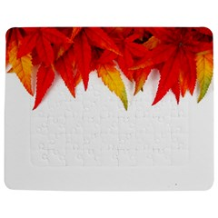 Abstract Autumn Background Bright Jigsaw Puzzle Photo Stand (rectangular) by Nexatart