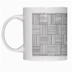 Flooring Household Pattern White Mugs by Nexatart