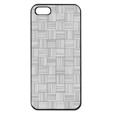 Flooring Household Pattern Apple Iphone 5 Seamless Case (black) by Nexatart