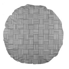 Flooring Household Pattern Large 18  Premium Flano Round Cushions by Nexatart