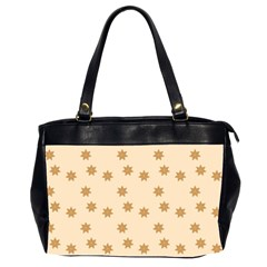 Pattern Gingerbread Star Office Handbags (2 Sides)  by Nexatart