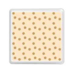 Pattern Gingerbread Star Memory Card Reader (square)  by Nexatart