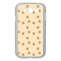 Pattern Gingerbread Star Samsung Galaxy Grand Duos I9082 Case (white) by Nexatart